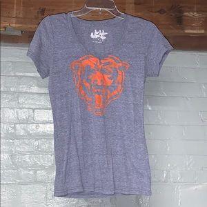 Touch Chicago Bears V-Neck Short Sleeve Shirt